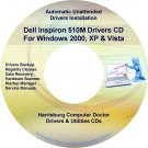 Dell Inspiron 510m Drivers Restore Recovery DVD