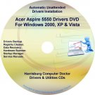 Acer Aspire 5550 Drivers Restore Recovery DVD