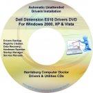Dell Dimension E510 Drivers Restore Recovery DVD