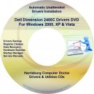 Dell Dimension 2400C Drivers Restore Recovery DVD