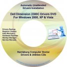 Dell Dimension 2300C Drivers Restore Recovery DVD