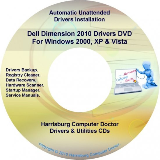 Dell Dimension 2010 Drivers Restore Recovery DVD