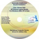 Acer Extensa Labtop Drivers Recovery Master DVD