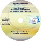 Acer Extensa Desktop Drivers Recovery Master DVD