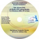 Dell Studio XPS Labtop Drivers Recovery Master DVD