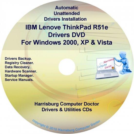 IBM Lenovo ThinkPad R51e Drivers Restore Disc CD/DVD