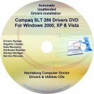 Compaq SLT 286 PC Drivers Restore HP Disc CD/DVD