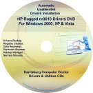 HP Rugged nr3610 Driver Recovery Disc CD/DVD
