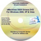 eMachines D620 Drivers Restore Recovery CD/DVD