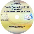 Toshiba Portege S100-S1133 Drivers Recovery CD/DVD
