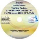Toshiba Portege M750-SP1801R Drivers CD/DVD