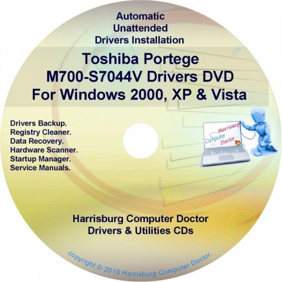 Toshiba Portege M700-S7044V Drivers Recovery CD/DVD
