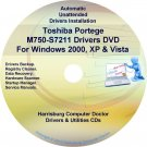 Toshiba Portege M750-S7211 Drivers Recovery CD/DVD