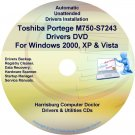 Toshiba Portege M750-S7243 Drivers Recovery CD/DVD