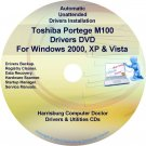 Toshiba Portege M100 Drivers Recovery CD/DVD