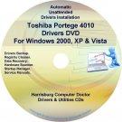 Toshiba Portege 4010 Drivers Recovery CD/DVD