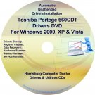 Toshiba Portege 660CDT Drivers Recovery CD/DVD
