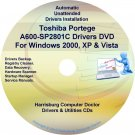 Toshiba Portege A600-SP2801C Drivers Recovery CD/DVD