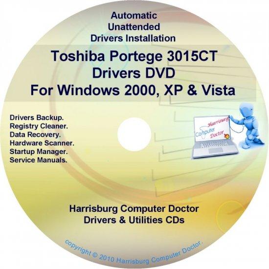 Toshiba Portege 3015CT Drivers Recovery CD/DVD
