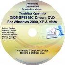 Toshiba Qosmio X505-SP8915C Drivers Recovery CD/DVD