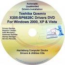 Toshiba Qosmio X305-SP6828C Drivers Recovery CD/DVD