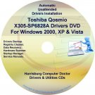 Toshiba Qosmio X305-SP6828A Drivers Recovery CD/DVD