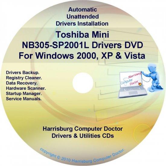 Toshiba Mini NB305-SP2001L Drivers Recovery CD/DVD