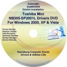 Toshiba Mini NB305-SP2001L Drivers Recovery CD/DVD