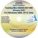 Toshiba Mini NB305-N411BN Drivers Recovery CD/DVD