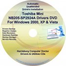 Toshiba Mini NB205-SP2924A Drivers Recovery CD/DVD