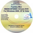 Toshiba Mini NB200-SP2908C Drivers Recovery CD/DVD