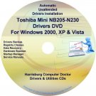 Toshiba Mini NB205-N230 Drivers Recovery CD/DVD