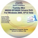 Toshiba Mini NB200-SP2905R Drivers Recovery CD/DVD