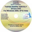 Toshiba Satellite X205-SLi1 Drivers Recovery CD/DVD