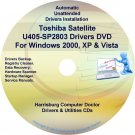Toshiba Satellite U405-SP2803 Drivers Recovery CD/DVD