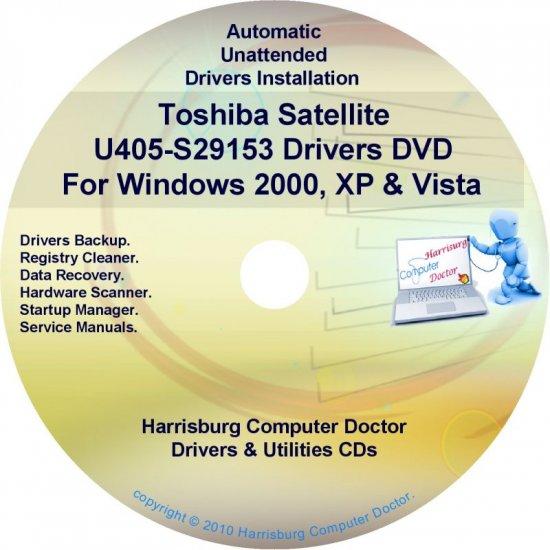 Toshiba Satellite U405-S29153 Drivers Recovery CD/DVD