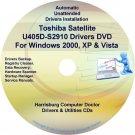 Toshiba Satellite U405D-S2910 Drivers Recovery CD/DVD