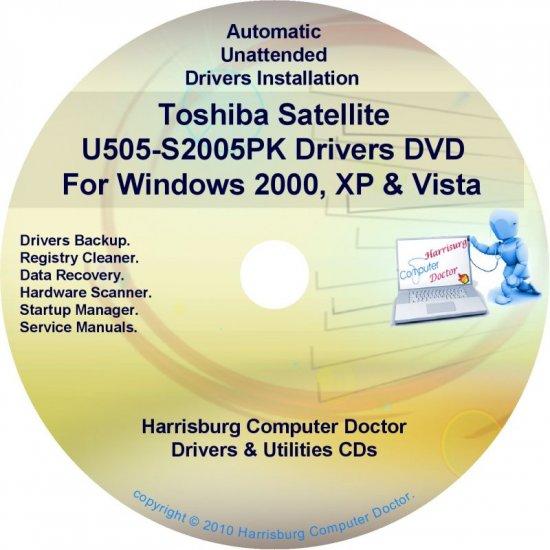 Toshiba Satellite U505-S2005PK Drivers CD/DVD