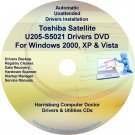 Toshiba Satellite U205-S5021 Drivers Recovery CD/DVD