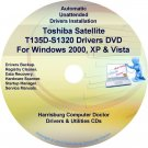 Toshiba Satellite T135D-S1320 Drivers CD/DVD