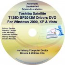 Toshiba Satellite T135D-SP2012M Drivers CD/DVD