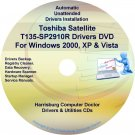 Toshiba Satellite T135-SP2910R Drivers CD/DVD