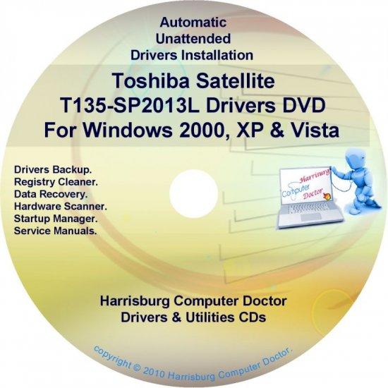 Toshiba Satellite T135-SP2013L Drivers CD/DVD