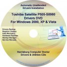 Toshiba Satellite P505-S8980 Drivers Recovery CD/DVD