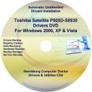Toshiba Satellite P505D-S8930 Drivers Recovery CD/DVD