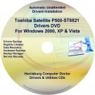Toshiba Satellite P500-ST6821 Drivers Recovery CD/DVD