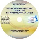 Toshiba Satellite P500-ST5807 Drivers Recovery CD/DVD