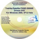 Toshiba Satellite P305D-S8995 Drivers Recovery CD/DVD