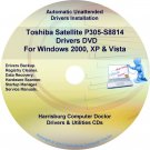 Toshiba Satellite P305-S8814 Drivers Recovery CD/DVD