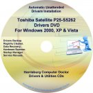 Toshiba Satellite P25-S5262 Drivers Recovery CD/DVD